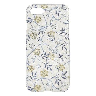 Funda Para iPhone 8/7 Caso claro del iPhone 7 del jazmín azul