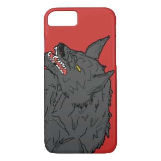 Funda Para iPhone 8/7 Caso de Barely There del iPhone 7 de Wolfman