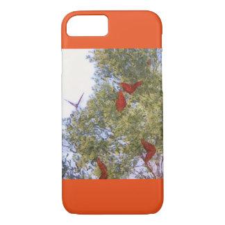 Funda Para iPhone 8/7 Caso de IPhone de las mariposas de monarca