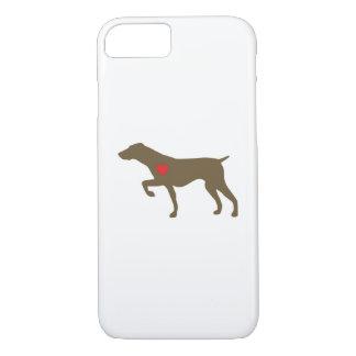 Funda Para iPhone 8/7 Caso de Iphone del perro del logotipo de