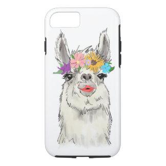 Funda Para iPhone 8/7 Caso de Llama Del Rey Phone