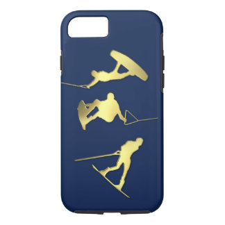 Funda Para iPhone 8/7 Caso de los Wakeboarders iPhone/iPad del oro