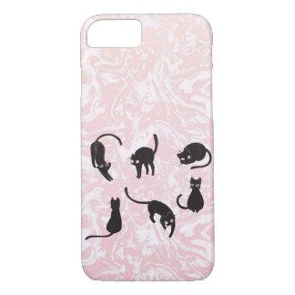Funda Para iPhone 8/7 Caso de mármol del iPhone del gato