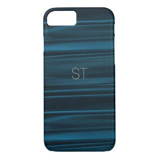 Funda Para iPhone 8/7 Caso de Smartphone en seda de la marina de guerra