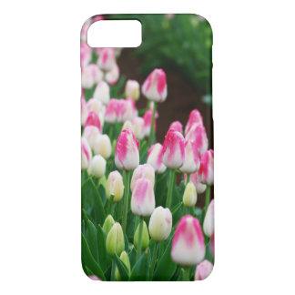 Funda Para iPhone 8/7 caso del campo del tulipán del iPhone 7
