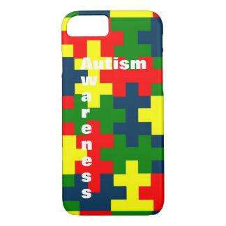 Funda Para iPhone 8/7 Caso del dispositivo de la conciencia del autismo
