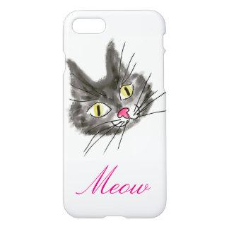 Funda Para iPhone 8/7 caso del gato del iPhone 7