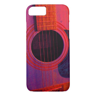 Funda Para iPhone 8/7 Caso del iPhone 7 de Barely There de la guitarra