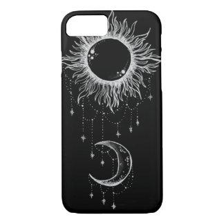 Funda Para iPhone 8/7 Caso del iPhone 7 de la luna y de Sun Boho