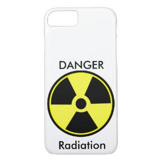 Funda Para iPhone 8/7 Caso del iPhone 7 de la radiación del peligro