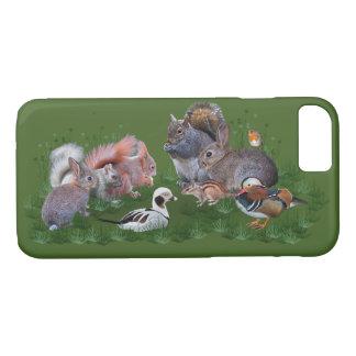 Funda Para iPhone 8/7 Caso del iPhone 7 de los animales del arbolado