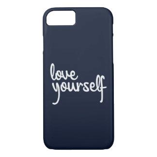 Funda Para iPhone 8/7 caso del iPhone 7 del amor usted mismo