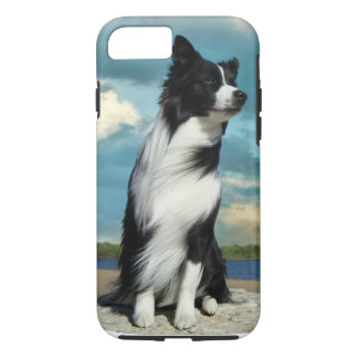 Funda Para iPhone 8/7 Caso del iPhone 7 del border collie