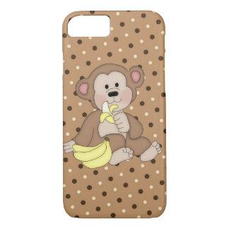 Funda Para iPhone 8/7 Caso del iPhone 7 del mono apenas allí