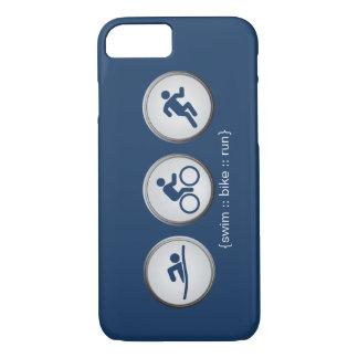 Funda Para iPhone 8/7 Caso del iPhone 7 del Nadada-Bici-Run del