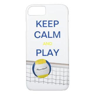 Funda Para iPhone 8/7 Caso del iPhone 7 del voleibol de playa