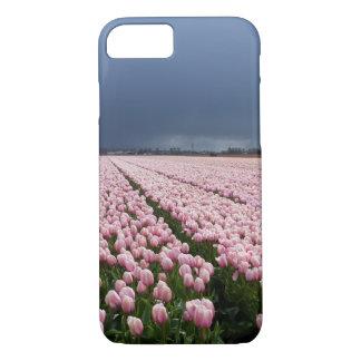 Funda Para iPhone 8/7 caso del iPhone 8 - campo de tulipanes