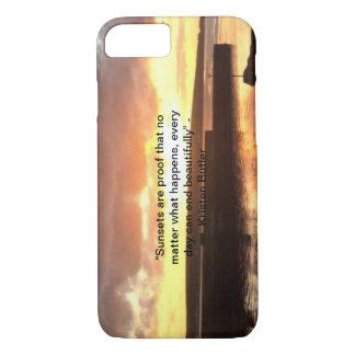 Funda Para iPhone 8/7 Caso del iPhone de la puesta del sol