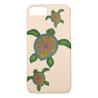 Funda Para iPhone 8/7 Caso del iPhone de la tortuga de mar