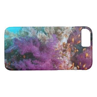 Funda Para iPhone 8/7 Caso del iPhone del arrecife de coral