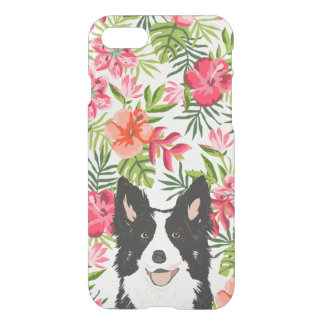 Funda Para iPhone 8/7 Caso del iphone del border collie - hawaiian