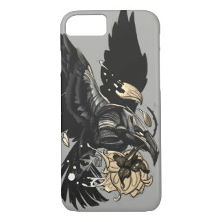 Funda Para iPhone 8/7 Caso del iPhone del cuervo