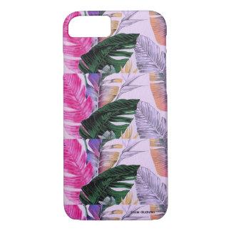 Funda Para iPhone 8/7 Caso del iPhone del modelo de la planta tropical