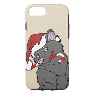 Funda Para iPhone 8/7 Caso del lobo O Goames de Chrismas