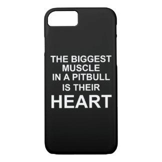 Funda Para iPhone 8/7 Caso del negro de Pitbull