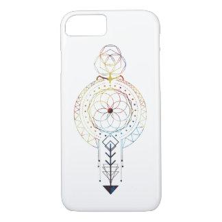 Funda Para iPhone 8/7 Caso diseñado geometría sagrada del iPhone 7
