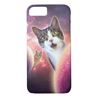 Funda Para iPhone 8/7 Caso divertido del iPhone de los gatos LOL del