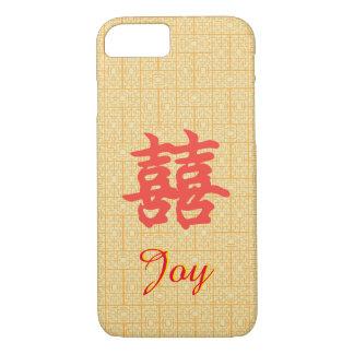 Funda Para iPhone 8/7 Caso doble chino de encargo de la alegría de la