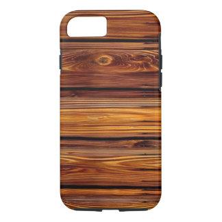 Funda Para iPhone 8/7 Caso duro de madera del iPhone X/8/7 del granero