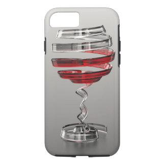 Funda Para iPhone 8/7 Caso duro del iPhone 7 de la copa de vino extraña
