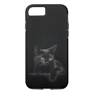 Funda Para iPhone 8/7 Caso duro del iPhone 7 del gato negro