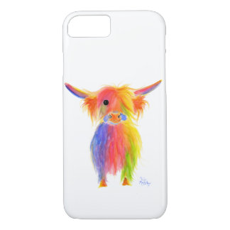 Funda Para iPhone 8/7 Caso escocés de la vaca TOTTIE Iphone de la