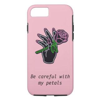 Funda Para iPhone 8/7 Caso estético satisfecho del rosa del iPhone