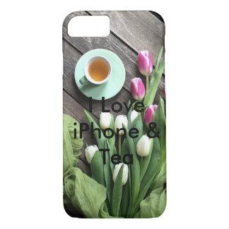Funda Para iPhone 8/7 caso estupendo floral del iPhone 7