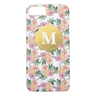Funda Para iPhone 8/7 Caso floral adaptable