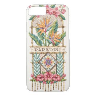 Funda Para iPhone 8/7 Caso floral del paraíso