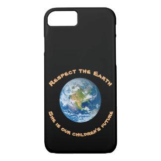 Funda Para iPhone 8/7 Caso futuro del iPhone 7 de los niños del respecto