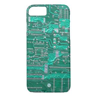 Funda Para iPhone 8/7 Caso Geeky del iPhone de la placa de circuito