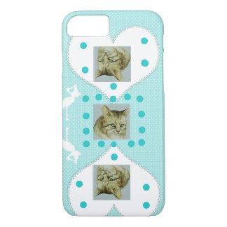 Funda Para iPhone 8/7 Caso hermoso de IPhone para los amantes del gato