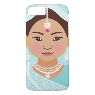 Funda Para iPhone 8/7 Caso indio de Matryoshka del chica de la