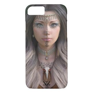 Funda Para iPhone 8/7 caso Layla tribal (del iPhone arte 3D)