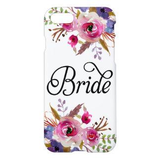 Funda Para iPhone 8/7 Caso moderno floral del iPhone 7 de Zazzle del