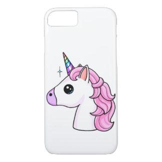 Funda Para iPhone 8/7 Caso mullido de Iphone de los unicornios