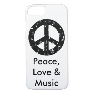 Funda Para iPhone 8/7 Caso musical del iPhone 7 de Barely There del
