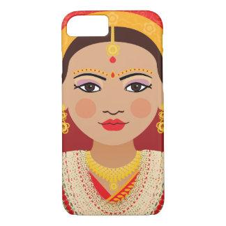 Funda Para iPhone 8/7 Caso nepalés de Matryoshka de la novia