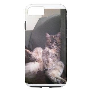 Funda Para iPhone 8/7 Caso perezoso del iPhone del gato